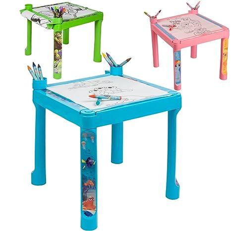 Disney Tavolino Da Disegno Rotolo 5m Da Disegno 8 Matite