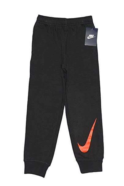 811769f653 Amazon.com  Nike Boys  Swoosh Fleece Cuffed Joggers (4