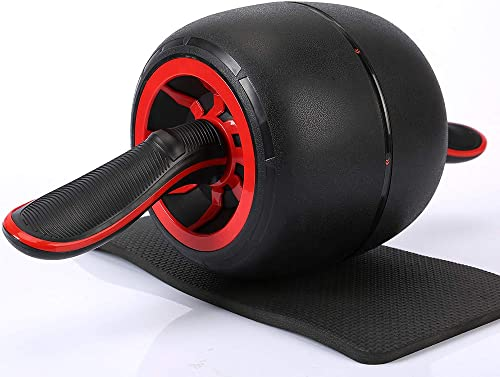 Chambridge Ab Roller Wheel Fitness Equipment with Smart Brake and Rebound Knee Pad Included,Abdominal Exercise Wheel for Core Strength Training