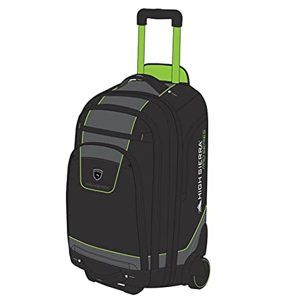 f9a661f8785a Amazon.com   High Sierra Pro Series Wheeled Carry On Boot Bag