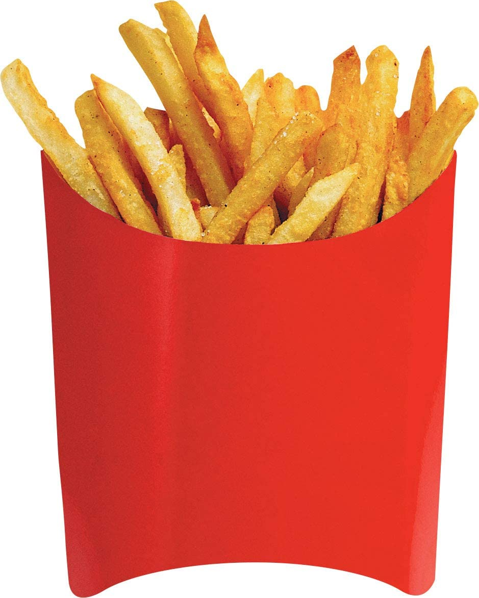 """Paper House Productions 3"""" x 2.5"""" Die-Cut French Fries Shaped Magnet for Refrigerators and Lockers"""