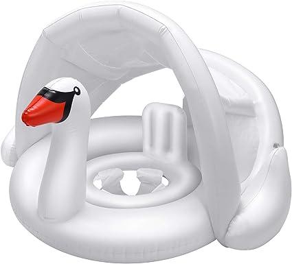 Child Baby Kids Inflatable Swim Ring Swan Flamingo Swimming Pool Seat Float Boat