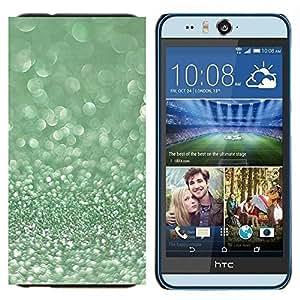 EJOOY---Cubierta de la caja de protección para la piel dura ** HTC Desire Eye M910x ** --Musgo Winter Dew Diamond