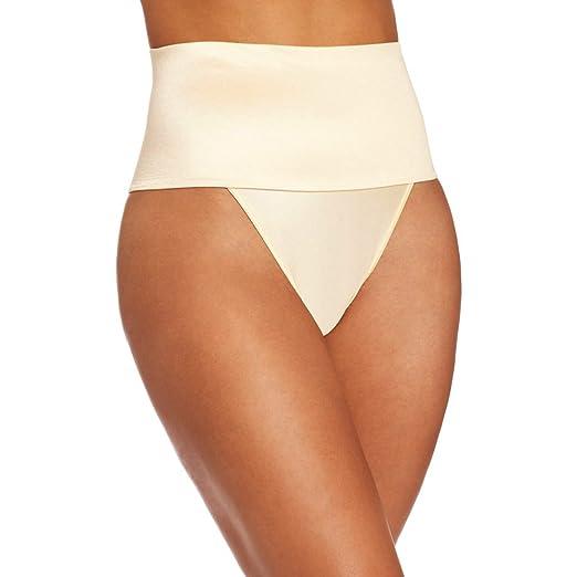 5f4ebf973dcb1 Women Waist Cincher Girdle Tummy Slimmer Sexy Thong Panty Shapewear (Small