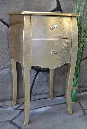Livitat Kommode Mit 2 Schubladen Pomp Gold Barock Antik Pompos