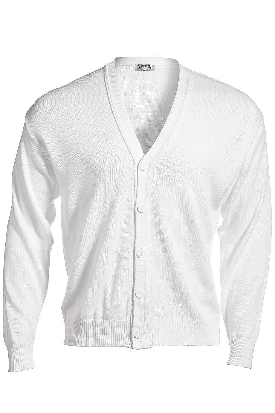 Edwards Garment ED Garments Men s Heavy Duty V-Neck Cardigan at Amazon  Men s Clothing store  cd9af4f5d