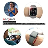 Annymei Watch Band, Durable Soft Silicone