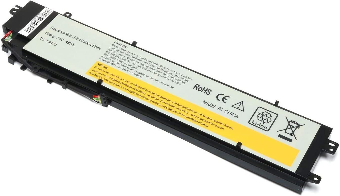 TanDirect New Y40-70 L13M4P01 7.4V 48wh Replacement Battery Compatible with Lenovo Erazer Y40-70AT-IFI L13C4P01 L13L4P01