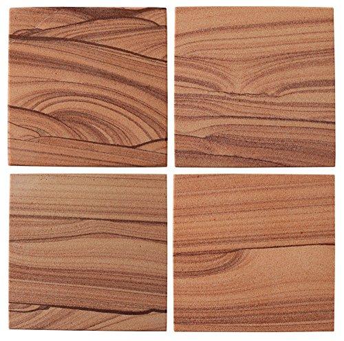 Thirstystone Sandstone Cinnabar Coasters