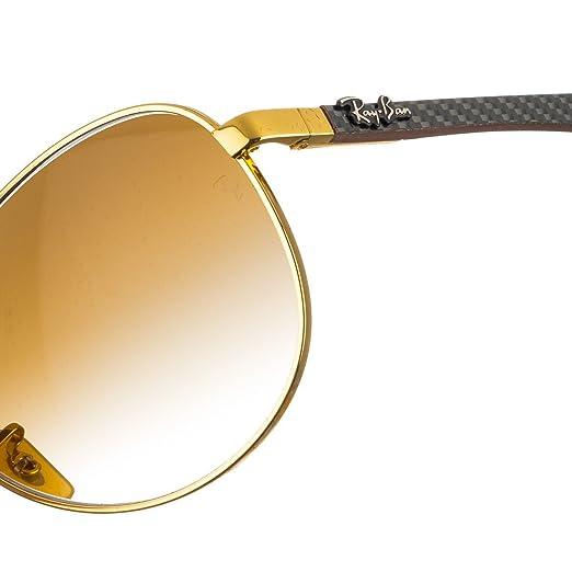 e85e1b913 Óculos de Sol Ray Ban Fibra de Carbono RB8313 001/51-61: Amazon.com.br:  Amazon Moda