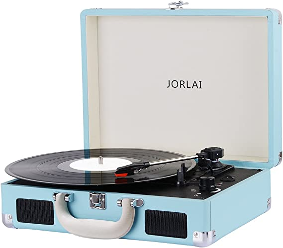 Vinyl Record Player JORLAI Turntable