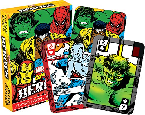 Aquarius Marvel Heroes Comics Playing Cards]()