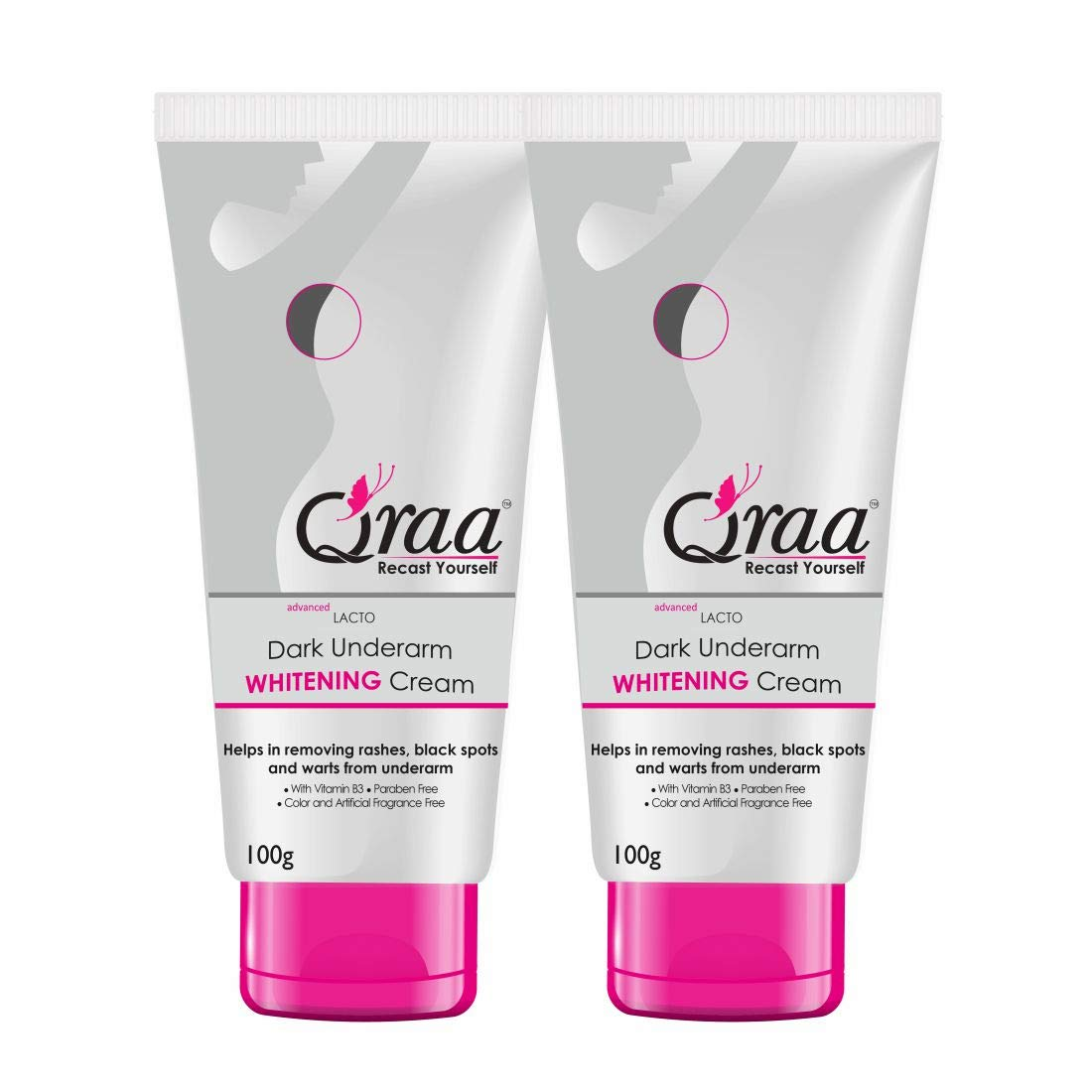Qraa Advanced Lacto Dark Underarm Whitening Cream