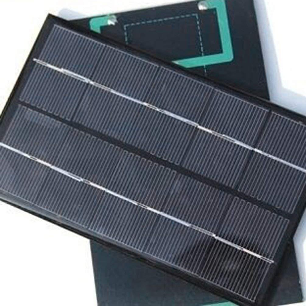 Rokj 5W 5V Panel Solar Cargador de bater/ía M/ódulo Solar DIY Tablero de Carga Solar USB