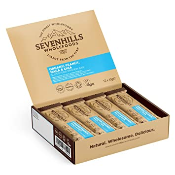 Sevenhills Wholefoods Barritas ricas en proteínas y superalimentos ...