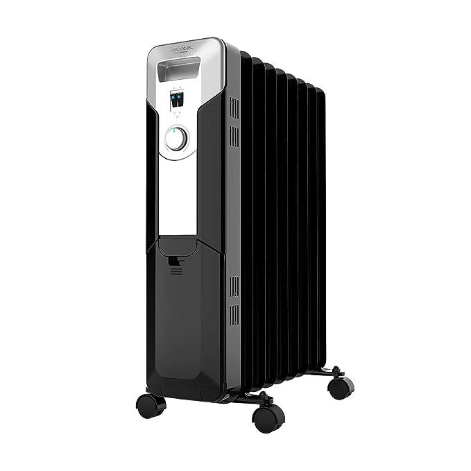 Cecotec Ready Warm 5670 Space - Radiador de Aceite de 9 Módulo, Negro: Amazon.es: Hogar