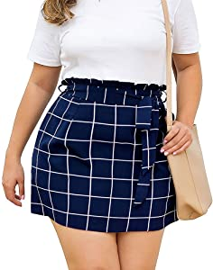 Giveaway: LaceSea Fashion Short Skirt for Women Plus Size with Pockets…