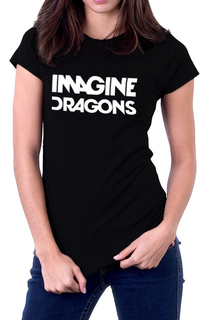 Imagine Dragons Rock Band Logo Tshirt