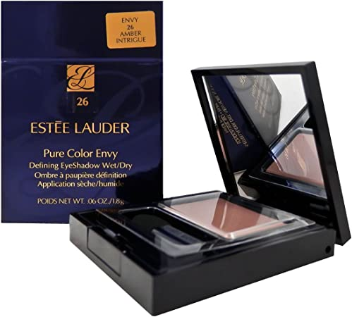Estée Lauder Pure Color Envy Defining Wet/Dry Eyeshadow – Sombra de ojos color 10 amber Intrigue: Amazon.es: Belleza