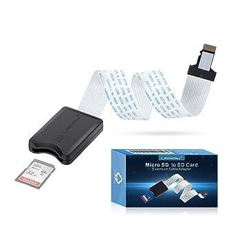LANMU - Cable Adaptador de extensión de Tarjeta Micro SD a ...
