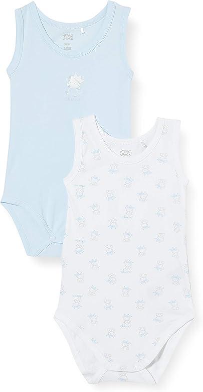 Chicco Set 2 Body Bimbo Senza Maniche Camiseta de Tirantes, Turquesa (Azu 021), 92 (Talla del Fabricante: 092) (Pack de 2) para Niños: Amazon.es: Ropa y accesorios