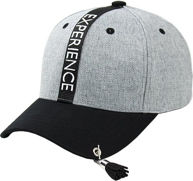 sujii EXPERIENCE Borla Gorra de Beisbol Baseball Cap Sombrero de Golf gorra  de Camionero Trucker Hat Grey  Amazon.es  Ropa y accesorios e4258ee4866