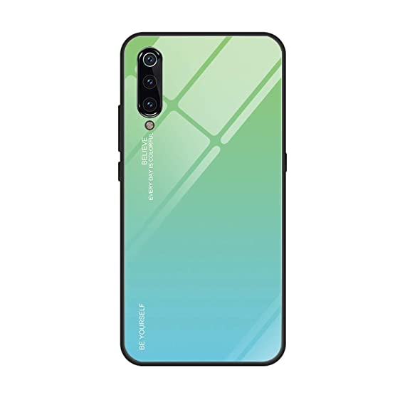 Amazon.com: Messenger Gradient Glass Phone Case for Xiaomi ...