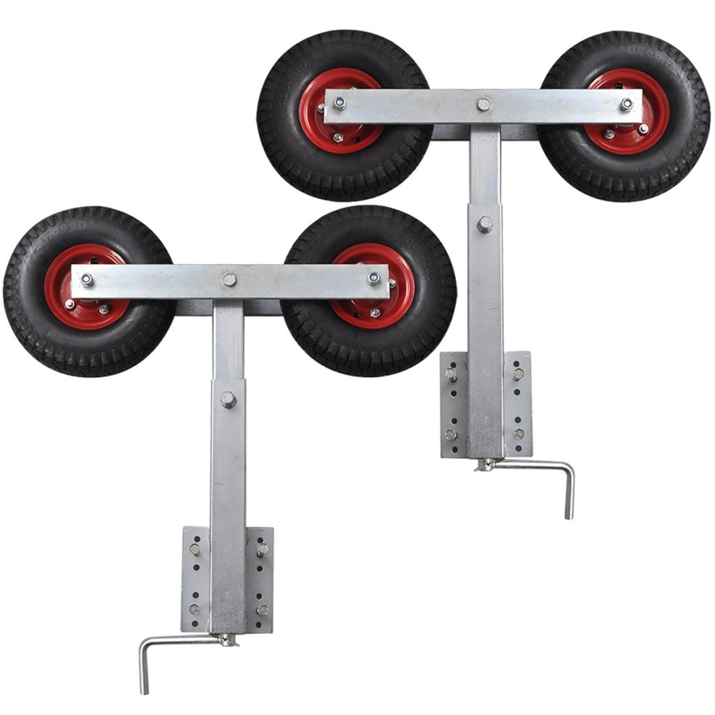 Daonanba Boat Trailer Double Wheel Bow Support Set Safe Baoting Support Parts by Daonanba
