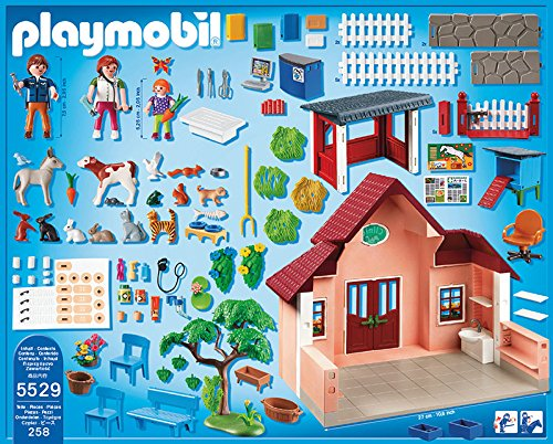 Amazon Playmobil Vet Clinic Play Set Toys Games