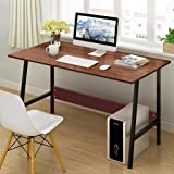 Toonshare Computer Desk Modern Simple Writing Desk For Home Office Study, Pc Laptop Home Office Study Table, Wood And…