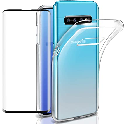 Cell Phone Accessories Cristal Templado Samsung Galaxy S10 Protector Carcasa Tpu Pack Funda Silicona