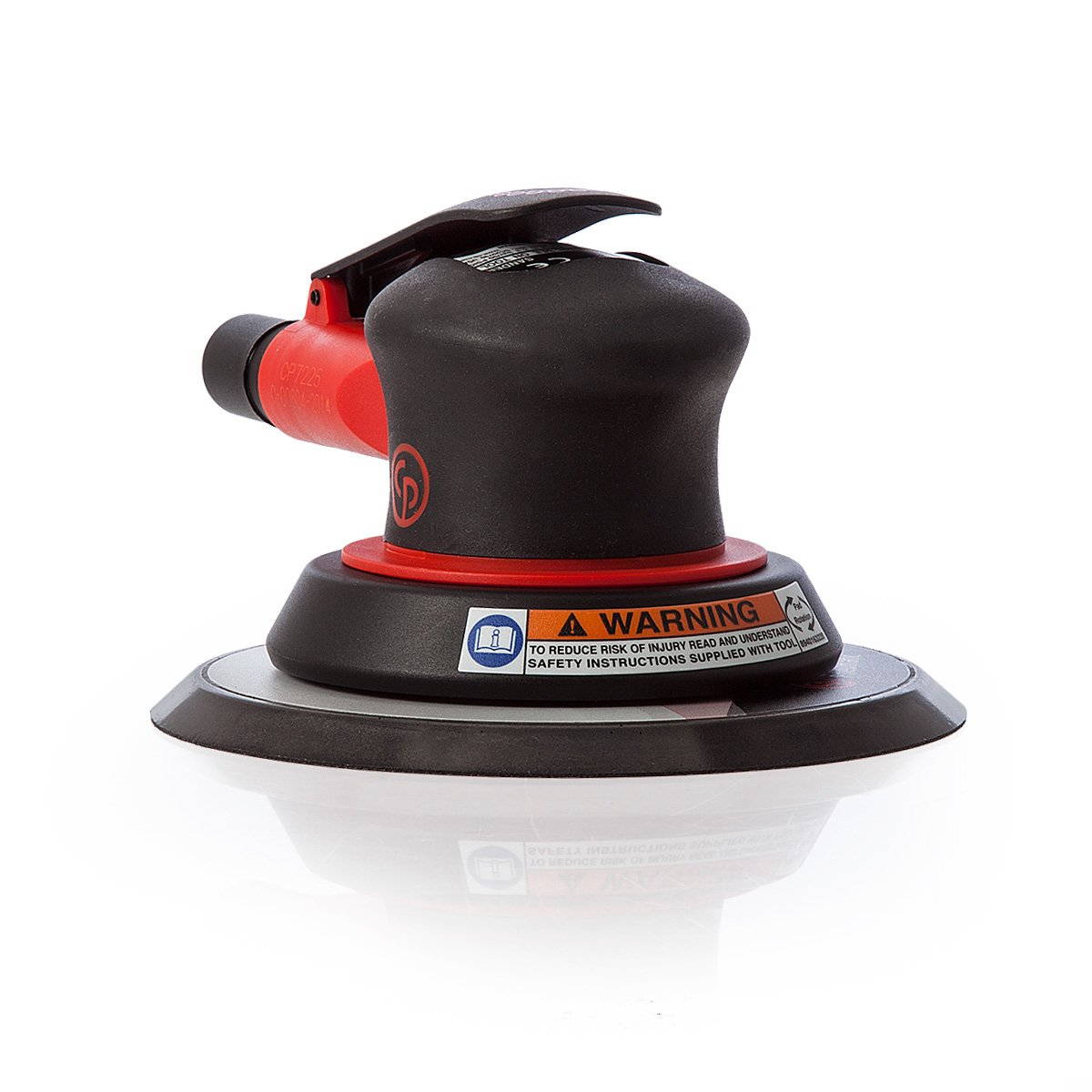 Chicago Pneumatic CP7225 Random Orbital Finishing Sander- 3/32 Orbit- 6-Inch Pad