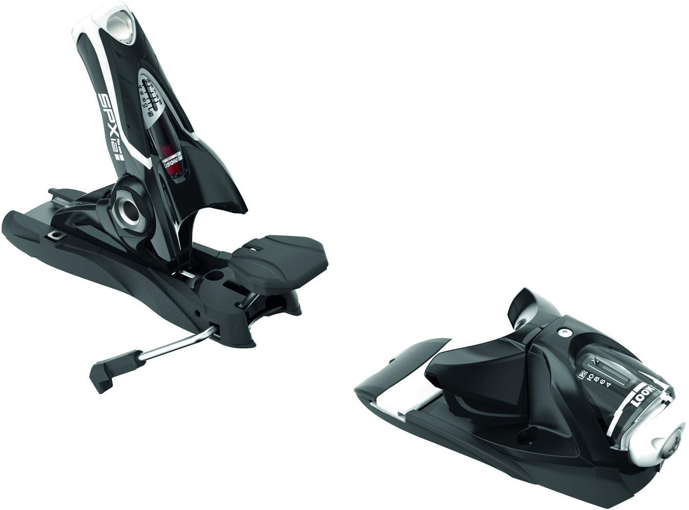 LOOK SPX 12 Dual WTR Ski Bindings Black//White Sz 100mm