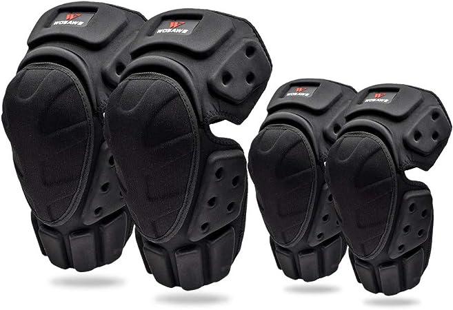 Wosawe Ellenbogen Knieprotektoren Erwachsene Ellenbogen Knie Armschützer Schutzausrüstung Für Scooter Skateboard Fahrradfahren Reiten Outdoor Auto