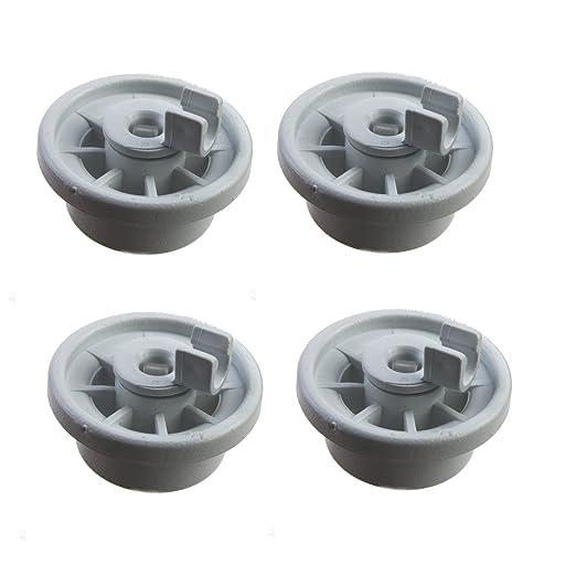 4 cesta ruedas ruedas para diversos modelos de lavavajillas de ...