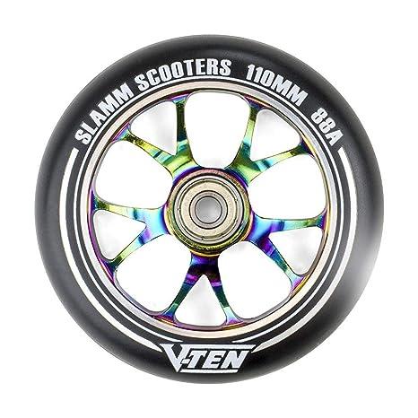 Slamm Scooters Slamm NeoChrome 110mm V-Ten II Ruedas, Unisex ...