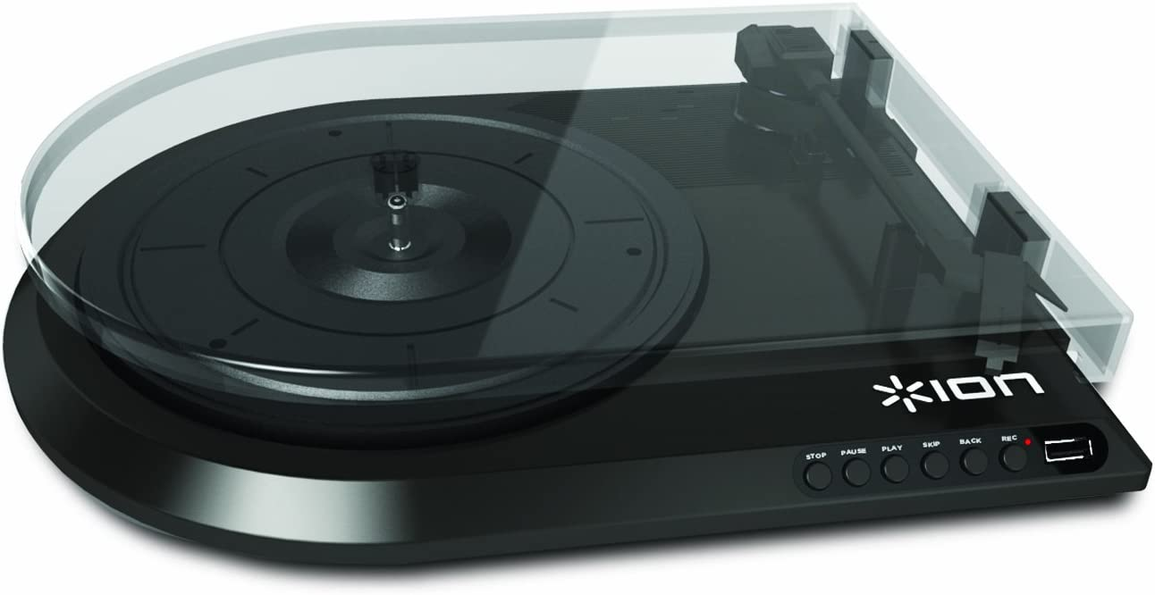 ION IT28 Quick Play Flash Conversion Turntable with USB Flash Drive