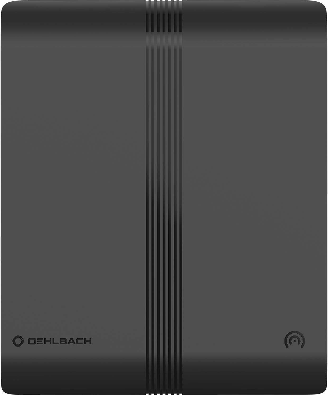 OEHLBACH Scope Audio Zimmerantenne f/ür DAB+ aktive Innenantenne mit Verst/ärker und F-Stecker FM UKW Radioempfang schwarz