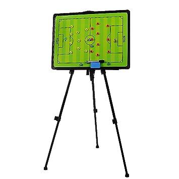 Pizarra magnética A-Nam de entrenador de fútbol, para tácticas. Pizarra borrable, con trípode y carga.: Amazon.es: Deportes y aire libre