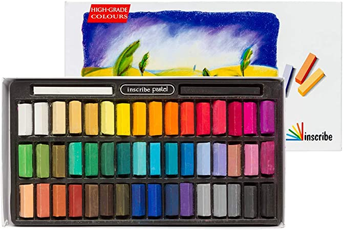 Inscribe - Estuche de tizas Pastel (48 Colores): Inscribe Soft Pastel Set - 48 Colours: Amazon.es: Juguetes y juegos