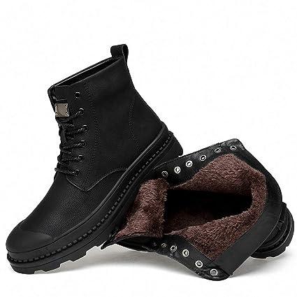 9df0084392d7d Amazon.com: Tebapi Mens Backpacking Boots Winter Fur Warm Snow Boots ...