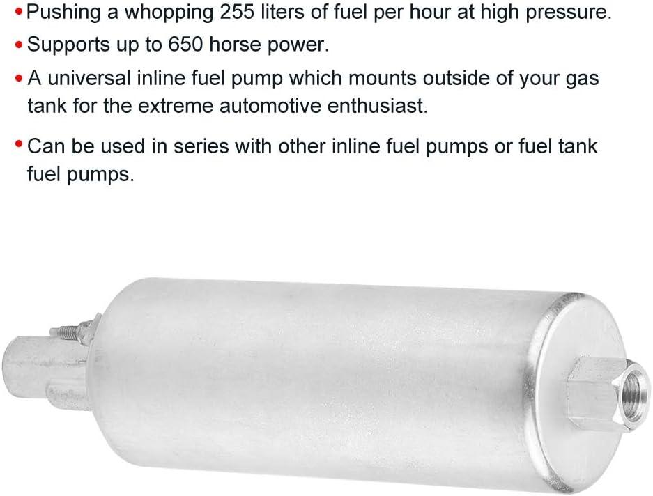 Walbro universel 255 LPH Inline Haute Pression Pompe à carburant externe GSL392 avec Kit