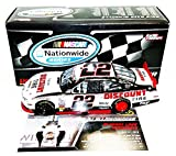 AUTOGRAPHED 2013 AJ Allmendinger #22 Discount Tire Racing WISCONSIN WIN (Raced Version) Nationwide Series Signed Penske Lionel 1/24 NASCAR Diecast Car with COA (#286 of only 640 produced!)