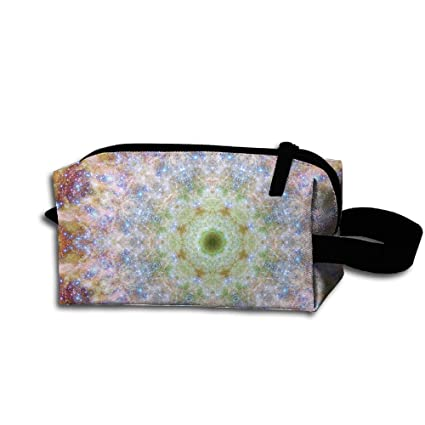 Mandala Kaleidoscope Makeup Bag Cosmetic Bag Womens Travel Bag Scratch  Resistant For Girl 80012e2219