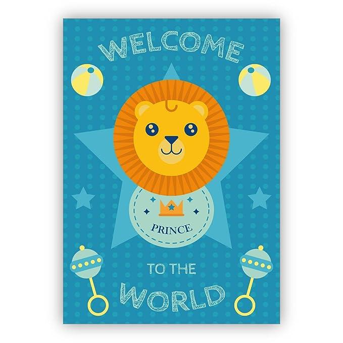 Conjunto de 16: Dulce tarjeta de felicitación para el nacimiento ...