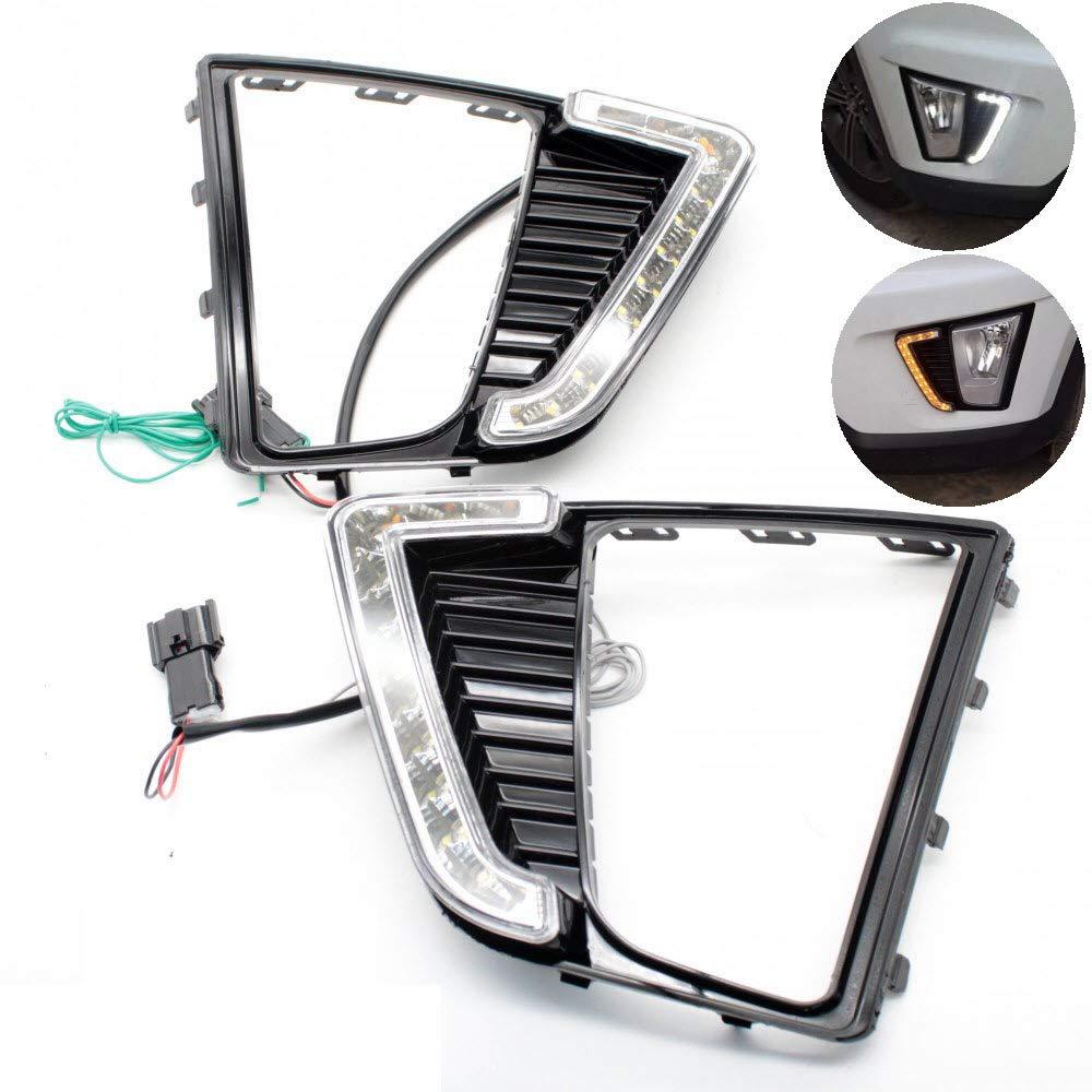 CNAutoLicht 2X LED Daytime Running Lights DRL Fog Lamp For Mercedes Benz W204 C180 C200 C220 C230 C250 C280 C300 C320 C350 2012 2013 2014