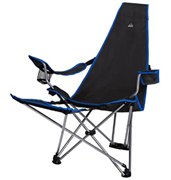 INTERSPORT McKinley Chaise Pliante Relax – GrisBleu