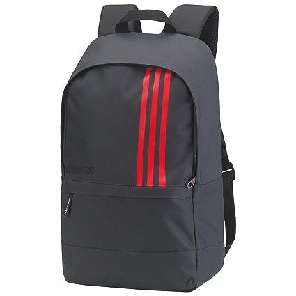 hot product really cheap buy good adidas 2017 Lightweight Rucksack 3-Stripes Small Travel Backpack Mens Gym  Bag Dark Grey/Scarlett
