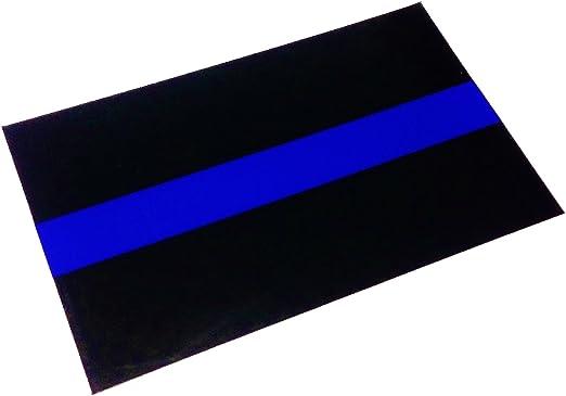 Empire Tactical USA Policía delgada línea azul calcomanía etiqueta reflectante de vinilo de ultra 3m: Amazon.es: Hogar