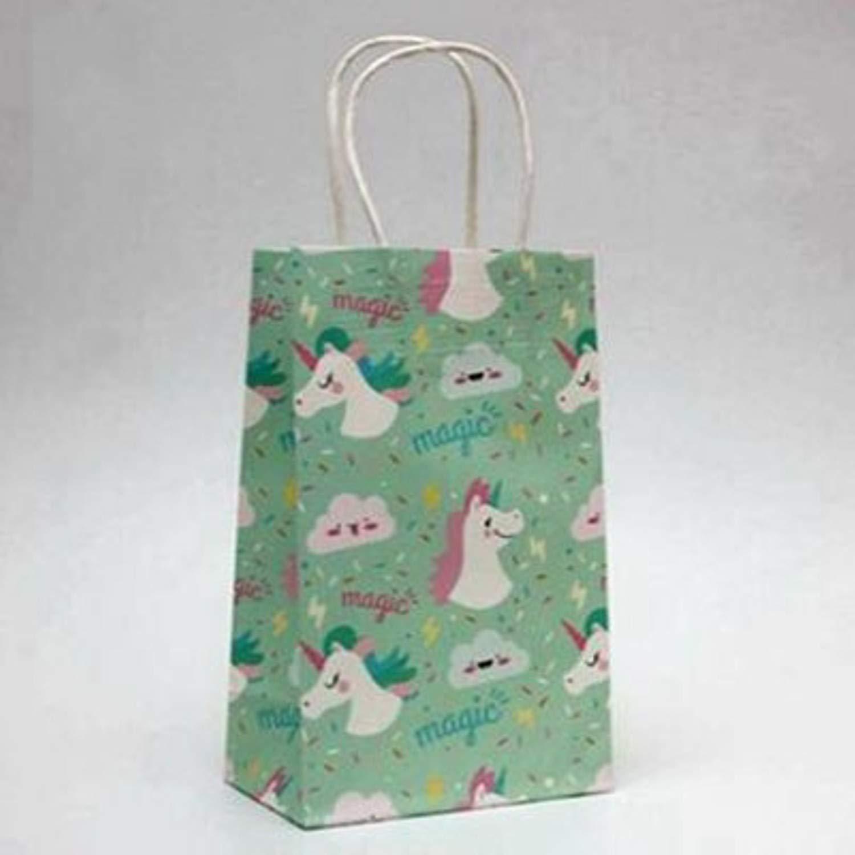 Amazon.com: Bolsas de regalo de papel kraft de Chitop con ...